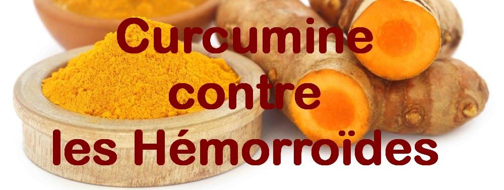 Curcumine contre les Hémorroïdes